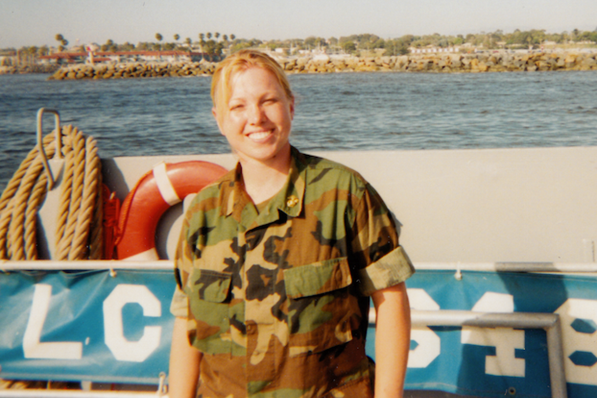 Trista, a Veteran of the U.S. Army, Marine Corps, and Army National Guard